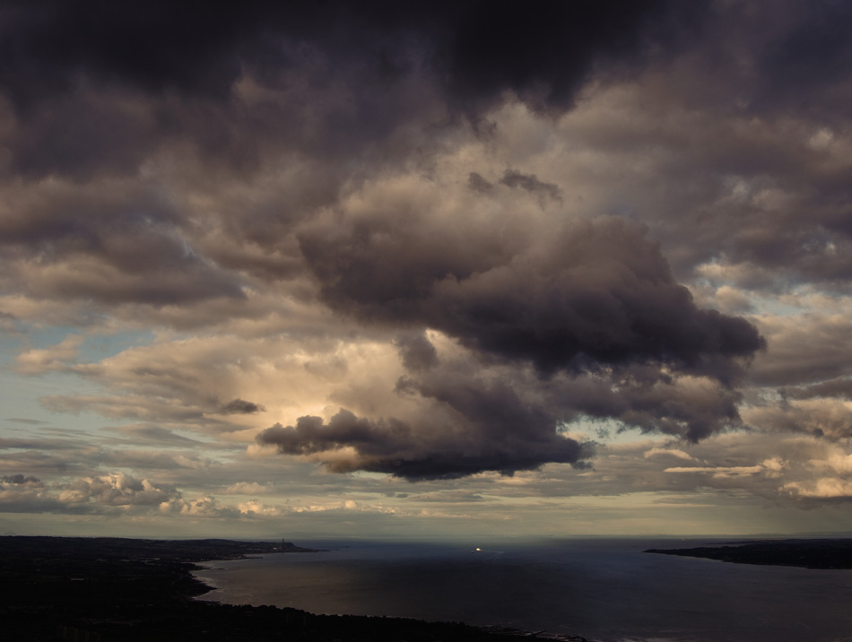 Belfast Lough from Cavehill, Northern Ireland. Fine art landscape photo by professional photographer Stephen S. T. Bradley - 2890 photo icon.