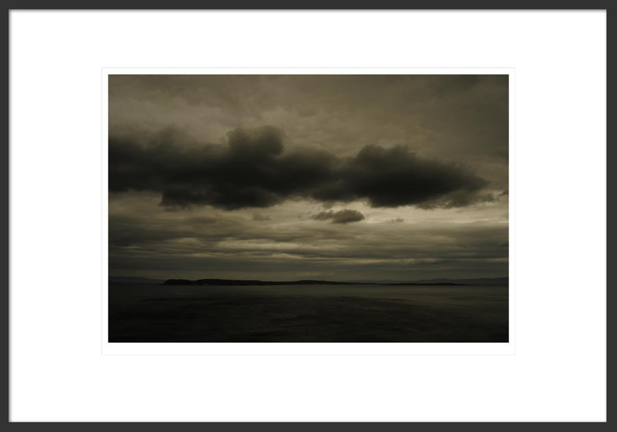 Fine art photograph of Rathlin Island within frame illustration.