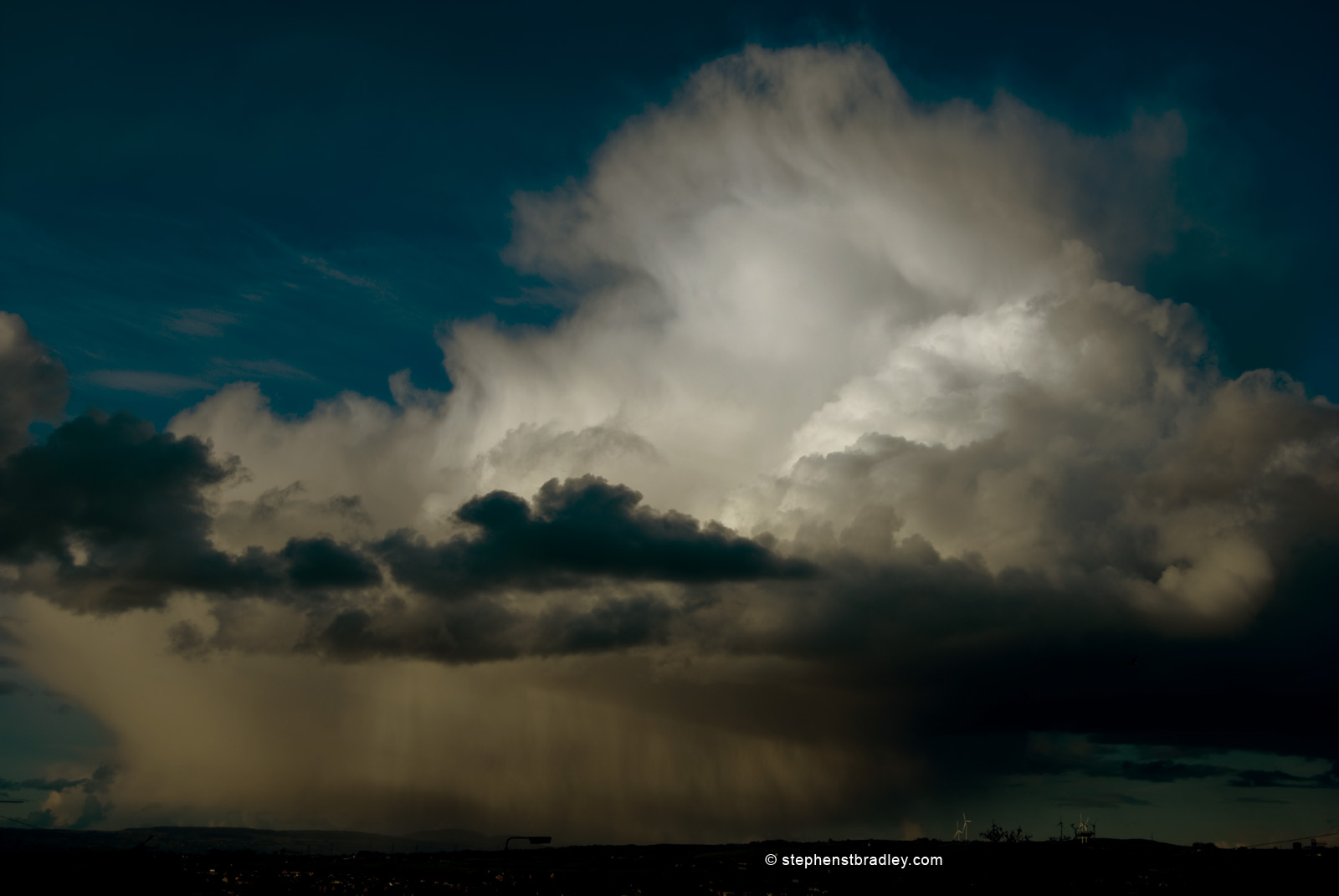 Dramatic sky over Glengormley Northern Ireland- image1023.
