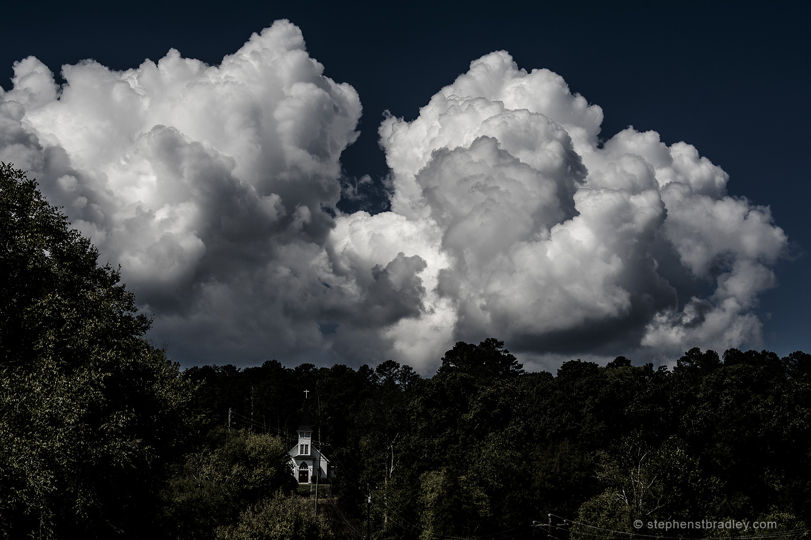 Clouds over Tate, Pickens County, Georgia, USA - image 1441.