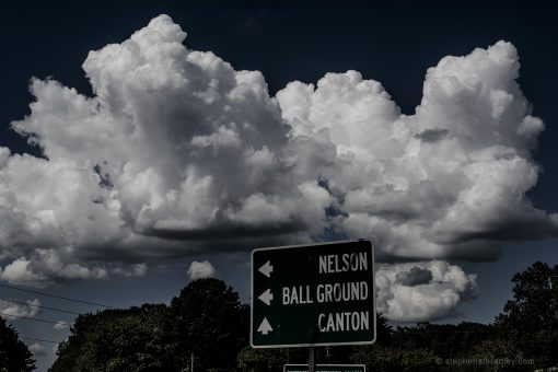 Clouds over Tate, Pickens County, Georgia, USA - image 1445.