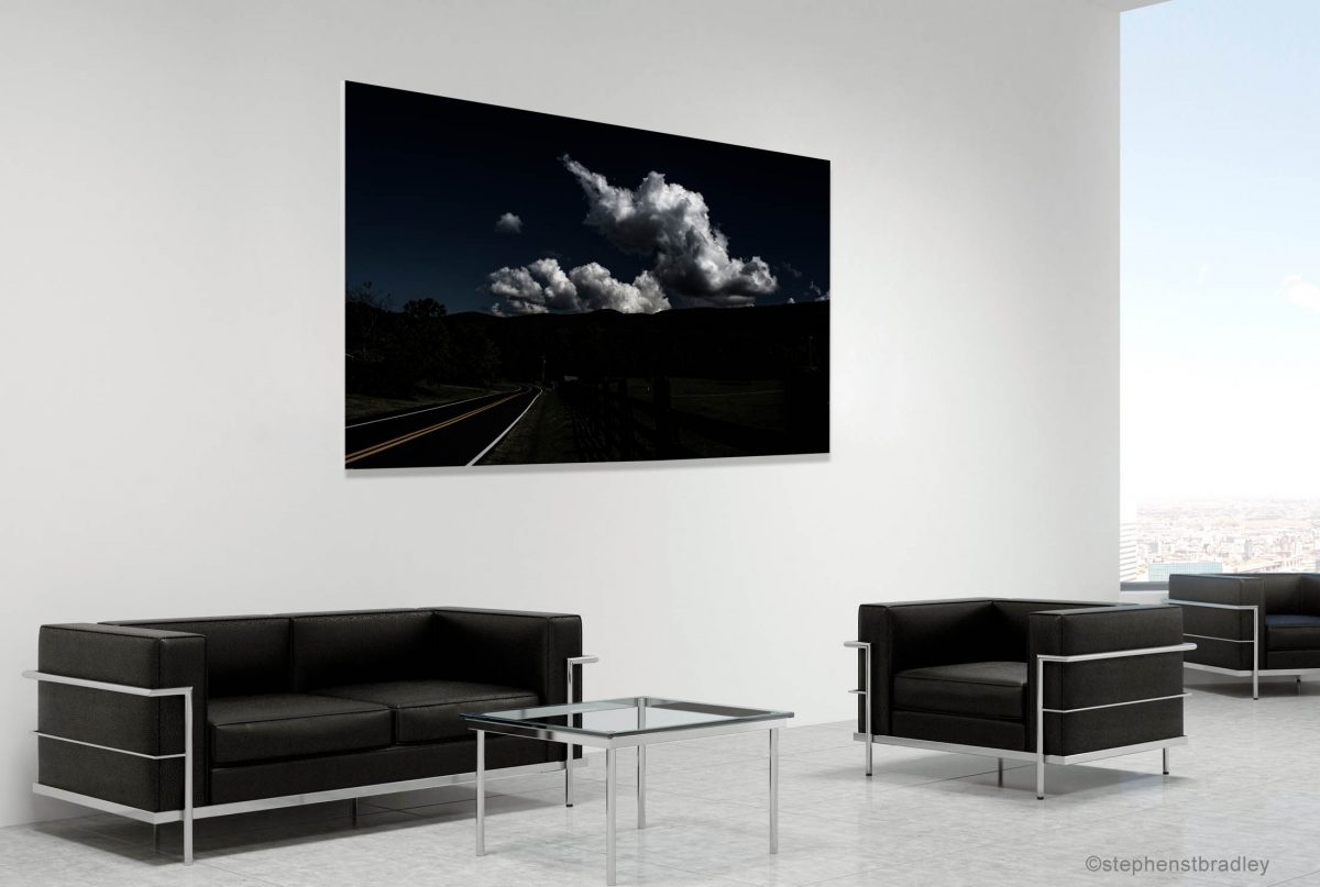 Fine art landscape photograph in a room setting - photo reference 1397.