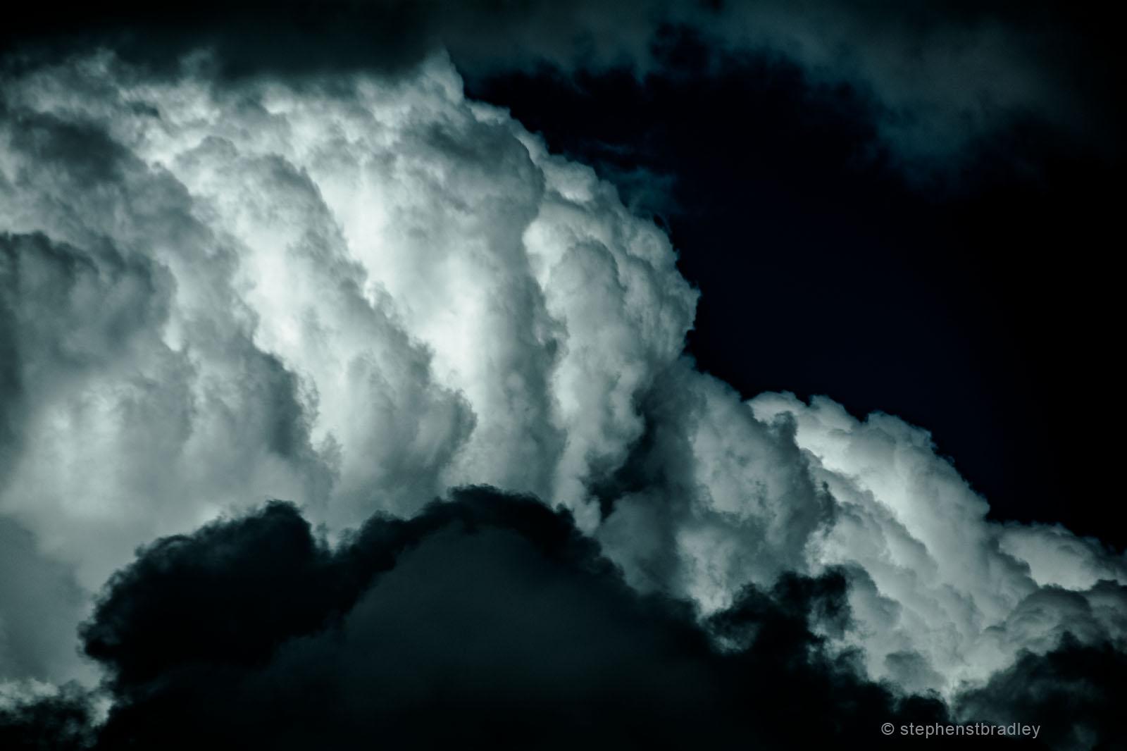 Black Matter 3 - fine art landscape photo 6384 by Stephen S T Bradley.