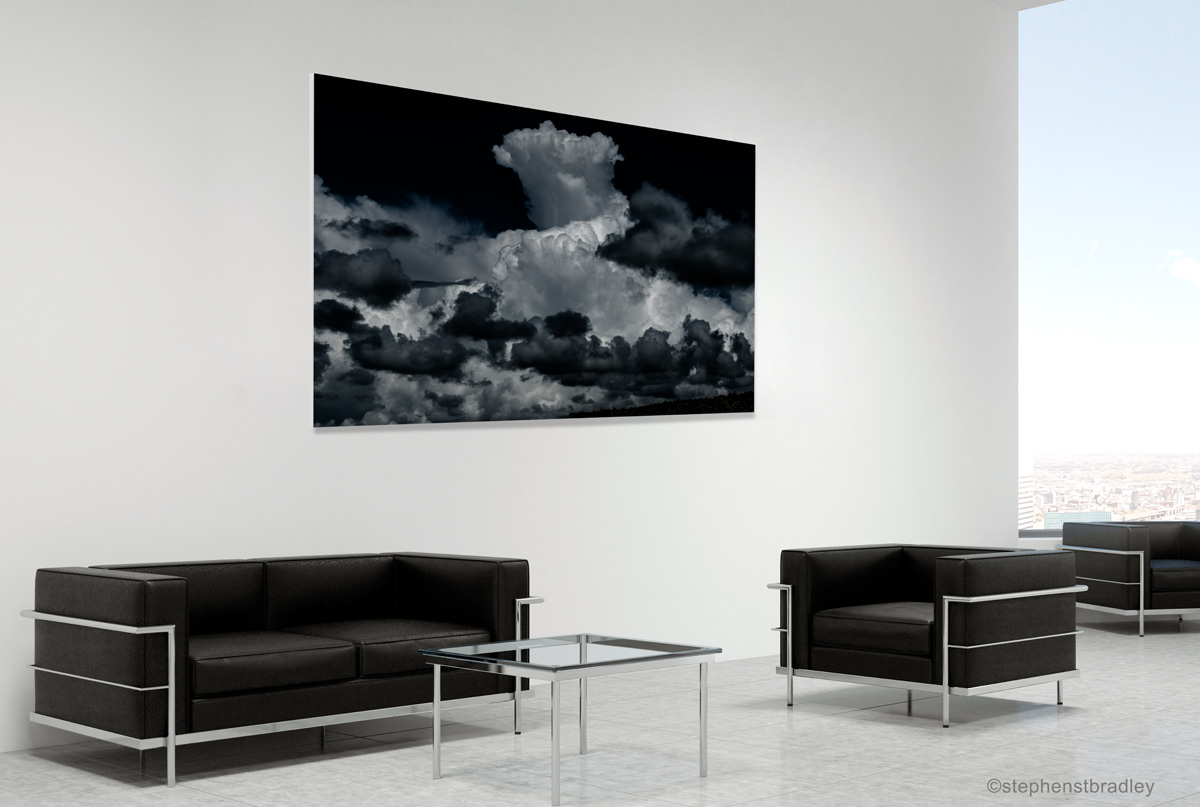 Fine art landscape photograph in a room setting. Photo reference 1580.