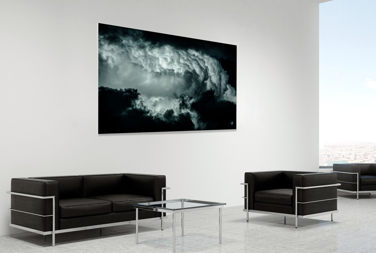 Fine art landscape photograph in a room setting - photo reference 6390.