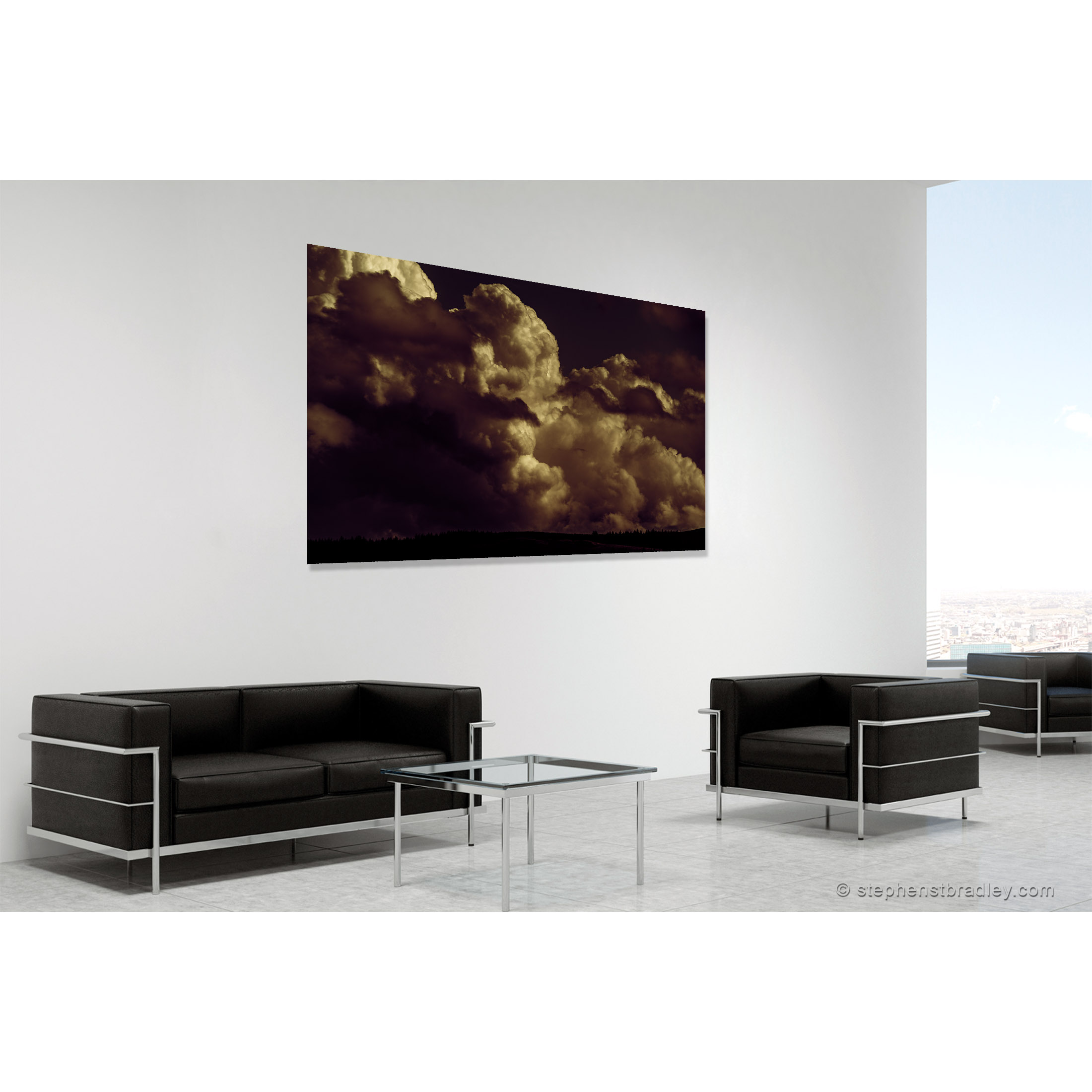 Valley of the Dead. Fine art photo 8777 in room setting - Stephen S T Bradley