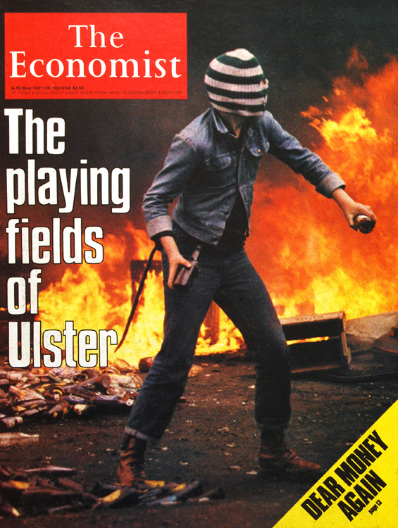 Image - cover of The Economist May 1981