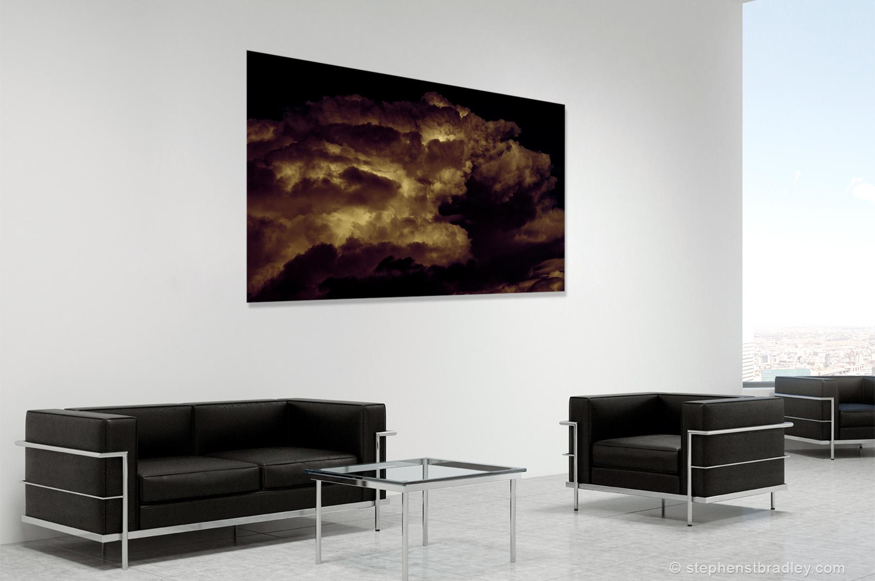 Skypig. Fine art photo of Ireland in room setting, cropped - Stephen S T Bradley