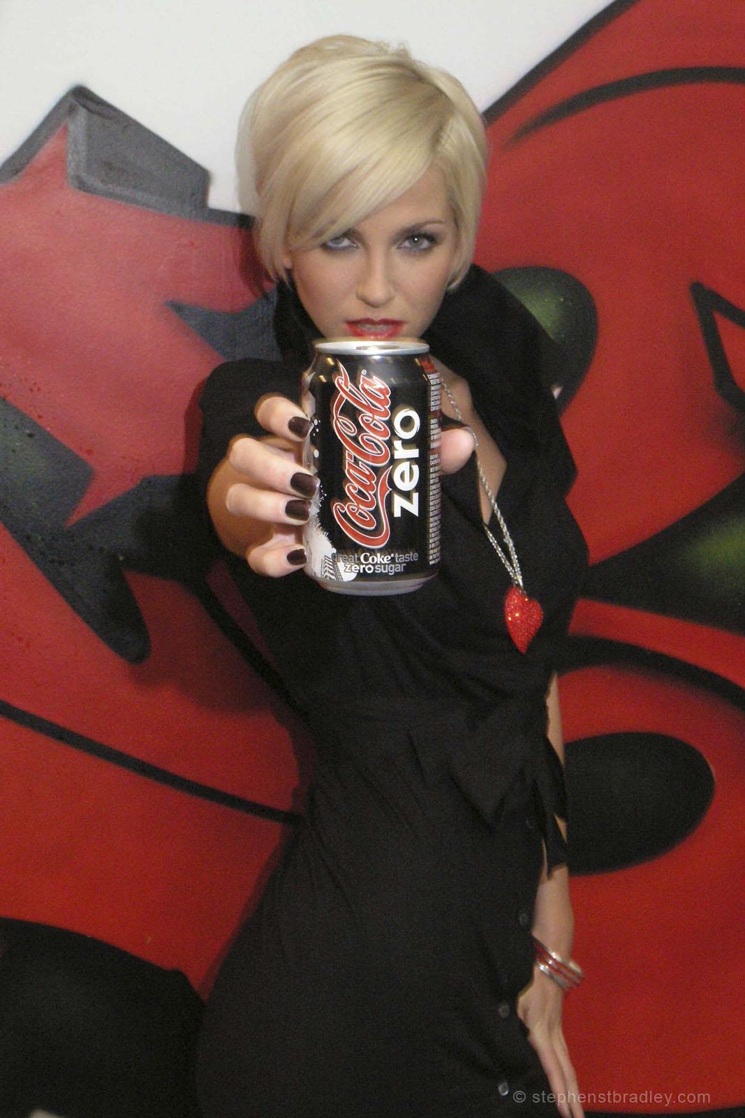 PR Photographer Dublin Ireland photo 1014105 - Sarah Harding Girls Aloud promoting Coca Cola Zero for Edelman PR