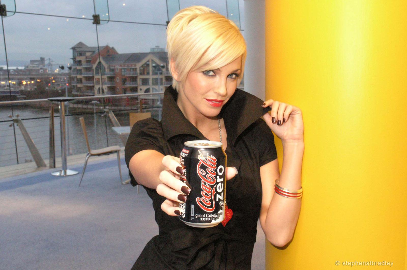 PR Photographer Dublin Ireland photo 1014114 - Sarah Harding Girls Aloud promoting Coca Cola Zero for Edelman PR
