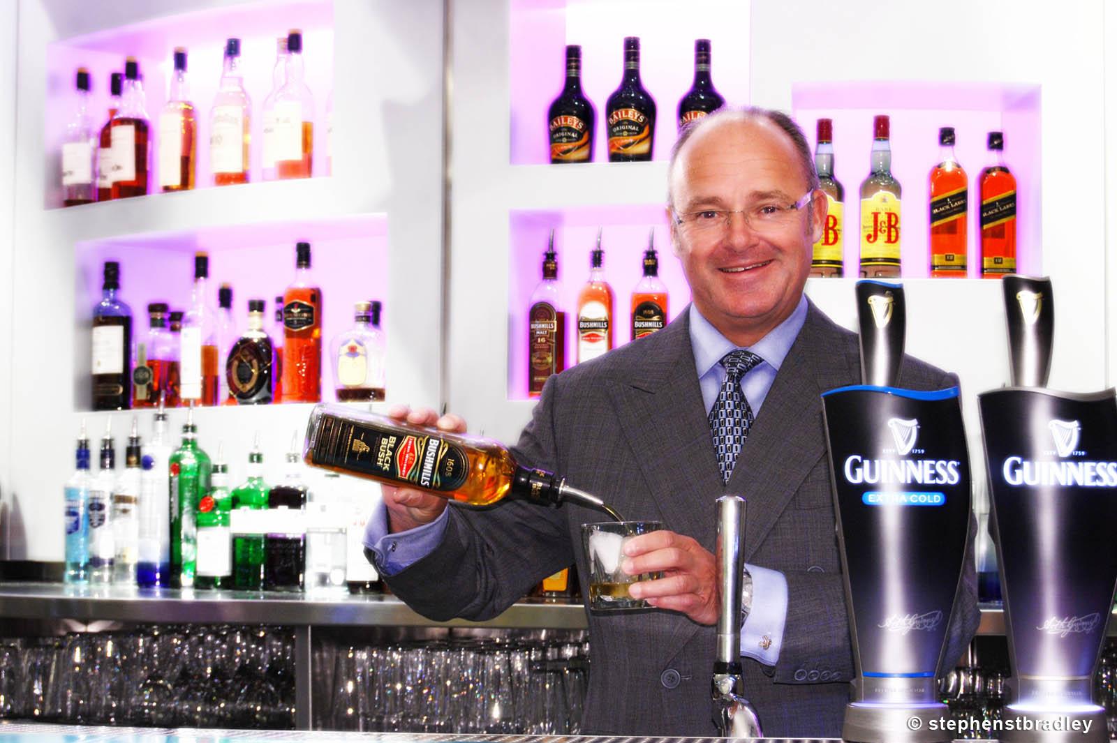 PR Photographer Dublin Ireland portfolio photo of former Diageo CEO Paul Walsh - photo 2257 by Stephen T Bradley PR photography and video production services Dublin, Ireland