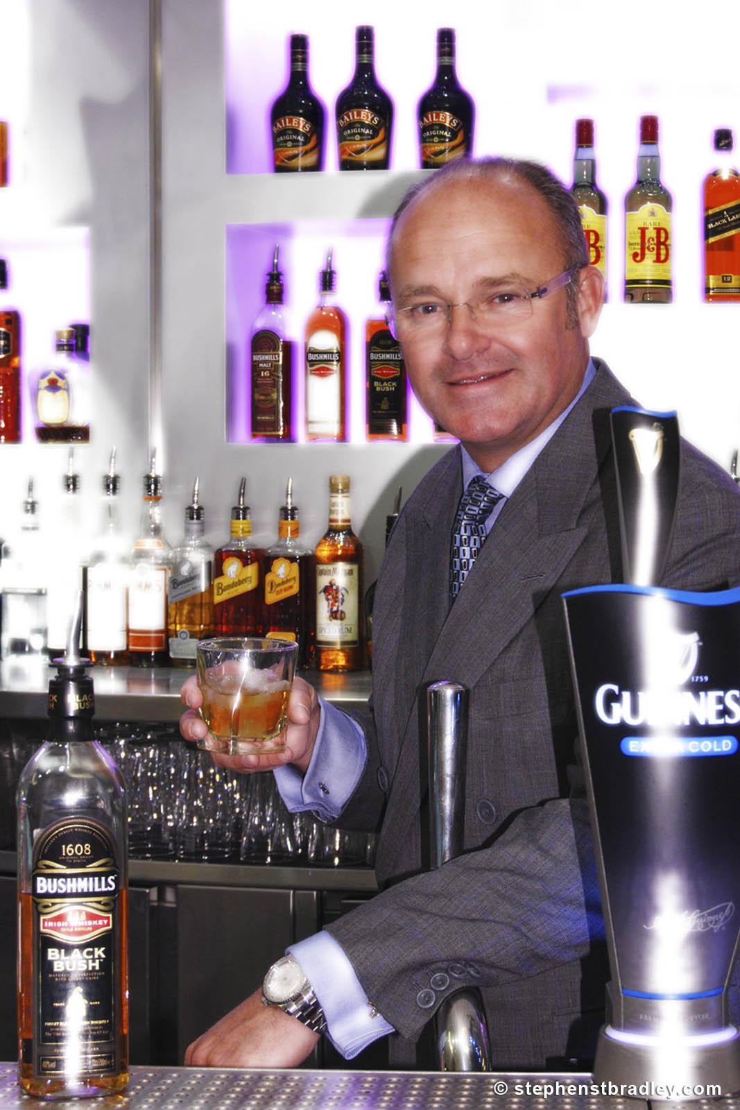 PR Photographer Dublin Ireland portfolio photo of former Diageo CEO Paul Walsh - photo 2260 by Stephen T Bradley PR photography and video production services Dublin, Ireland