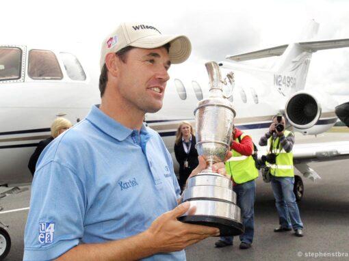 Harrington wins The Open