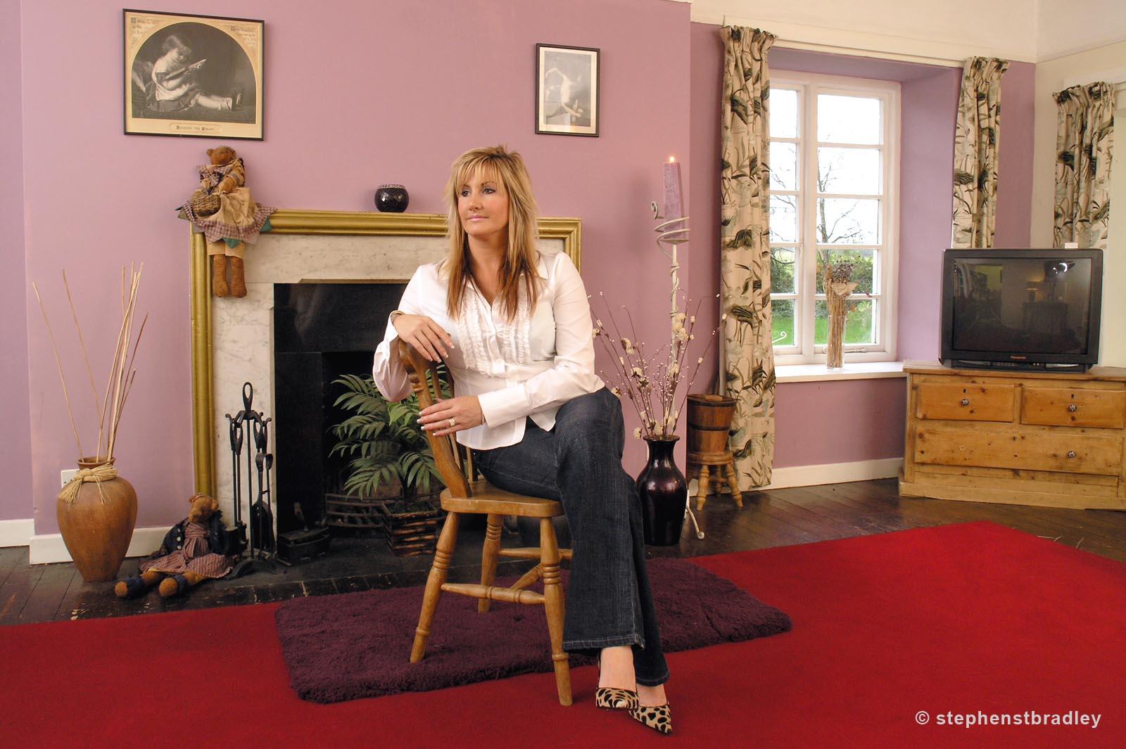 Editorial photographer Dublin portfolio photo 1013343 of Kim Black photographed for Grazia Magazine by Stephen S T Bradley