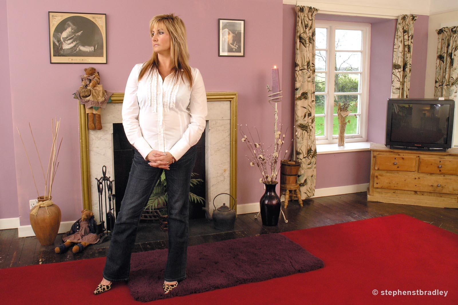 Editorial photographer Dublin portfolio photo 1013350 of Kim Black photographed for Grazia Magazine by Stephen S T Bradley