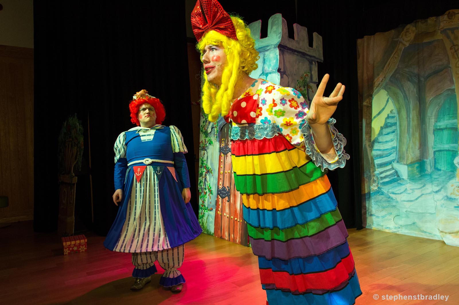 PR Photographer Dublin Ireland portfolio photo of Cinderella Pantomime for Antrim and Newtownabbey Borough Council - photo 9797 by Stephen T Bradley