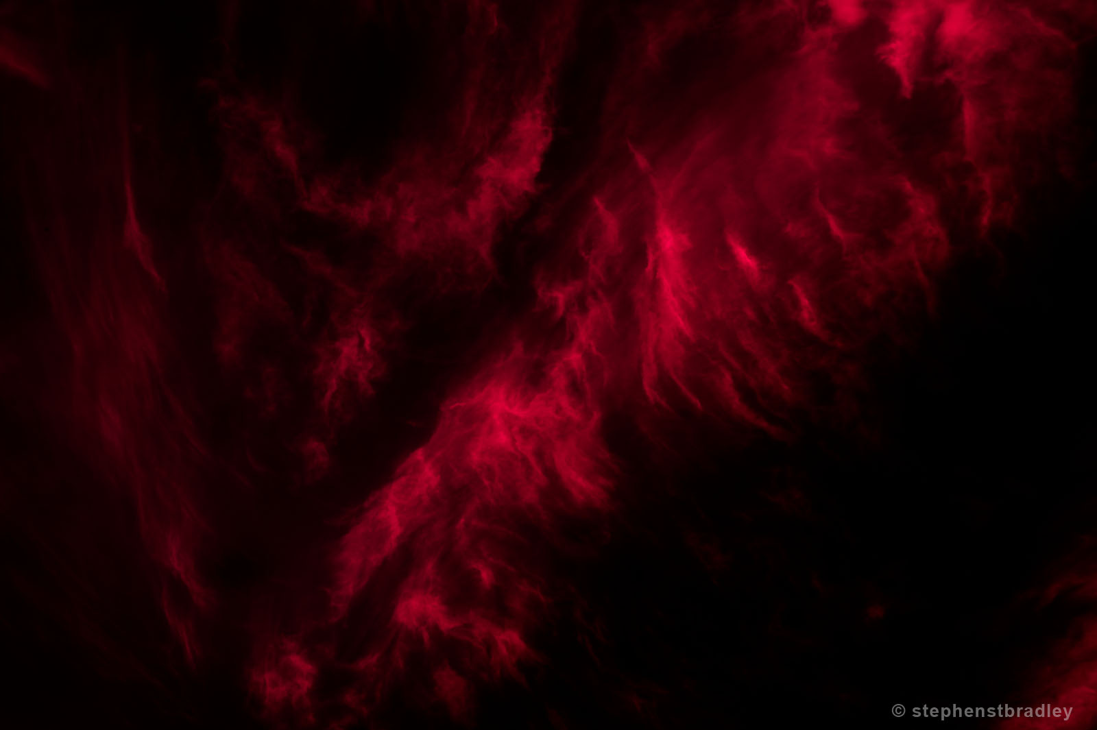 Vapour Red 6766. Limited edition fine art photo of Ireland by Stephen S T Bradley