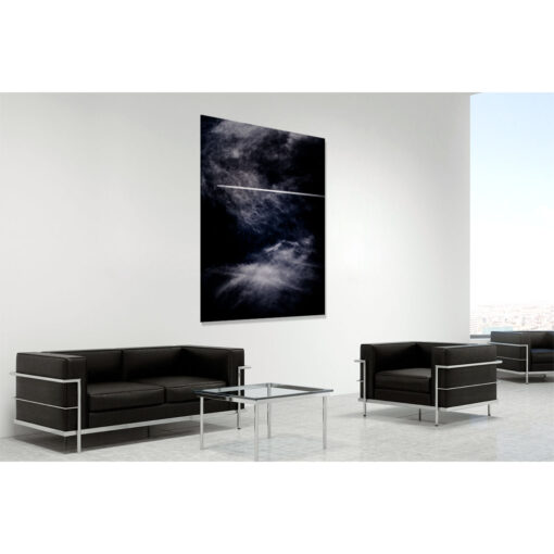 Going it alone - a limited edition fine art photo of clouds over Ireland by Stephen S T Bradley reference 4951. Photo in room setting