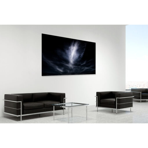 Upwardly mobile - a limited edition fine art photo of clouds over Ireland by Stephen S T Bradley. Photo 4927 shown in room setting
