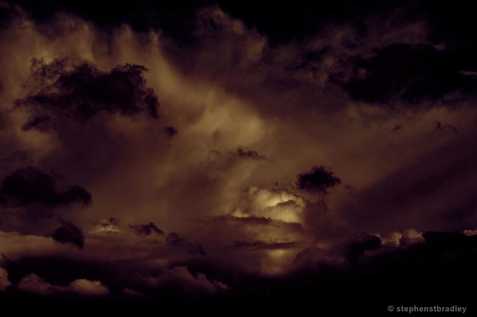 Boom - clouds over Newtownabbey, Northern Ireland