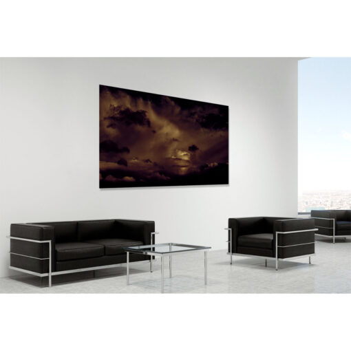 Boom - contemporary fine art photography by Stephen S T Bradley in room setting