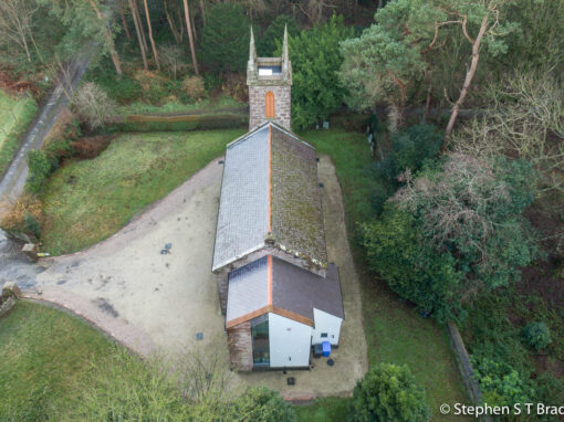 Roof and building inspection photography