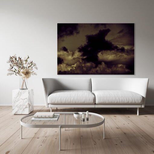 Hyperlumen photo in room setting - contemporary limited edition fine art photograph by Stephen S T Bradley for sale via his fine art photography gallery